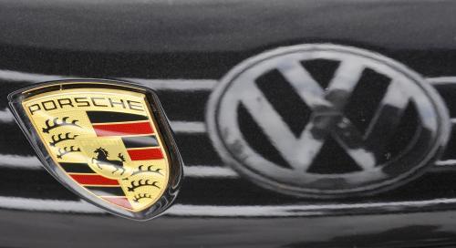 Porsche a Volkswagen