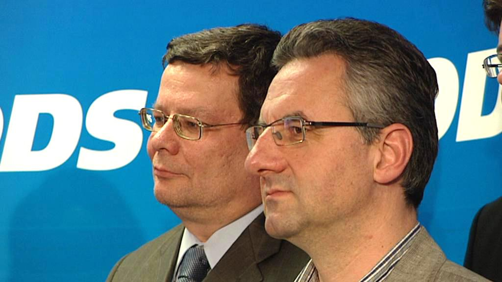 Alexandr Vondra a Jan Zahradil