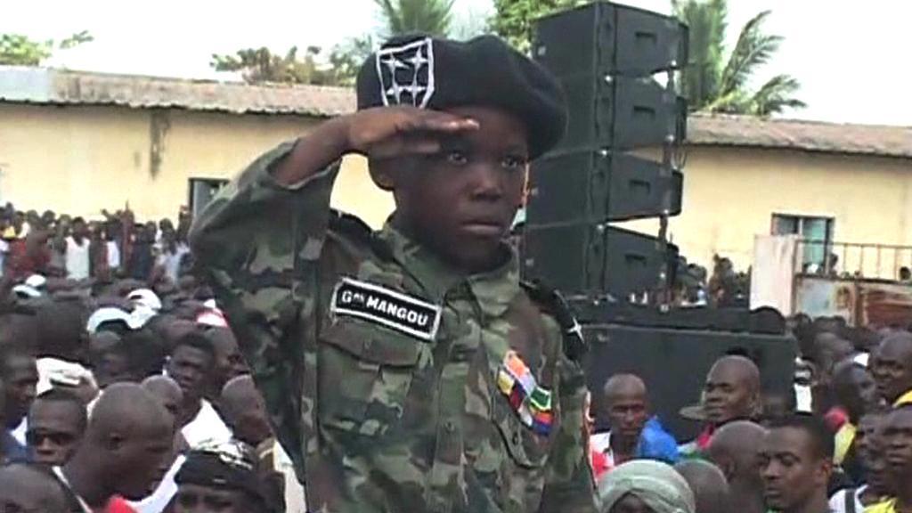 Stoupenci prezidenta Gbagba