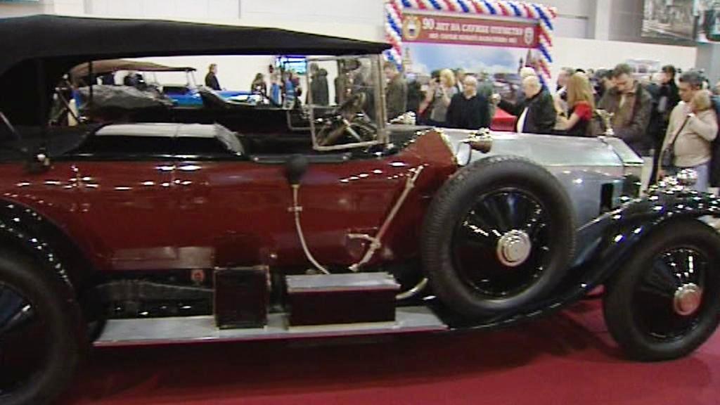 Výstava aut v Moskvě