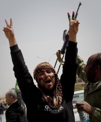 Vítězství povstalců v Adžedábíji