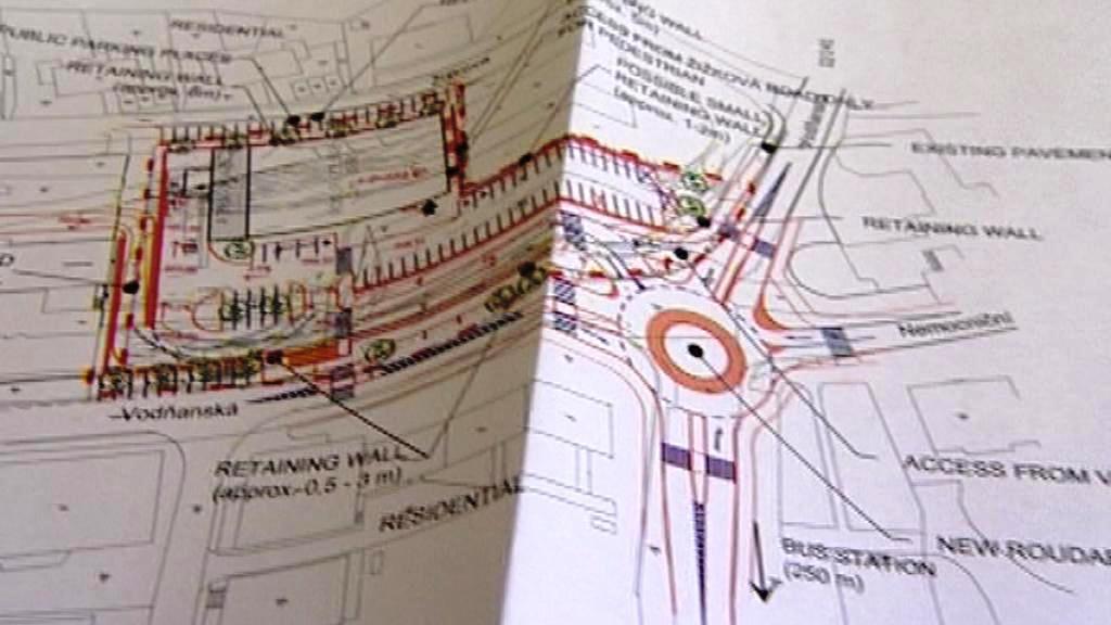 Plán na stavbu hypermarketu v Prachaticích