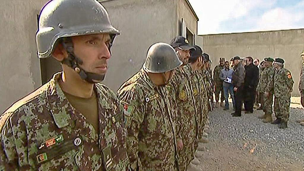 Výcvikové středisko v Afghánistánu