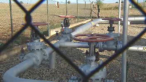 Kohouty plynovodů