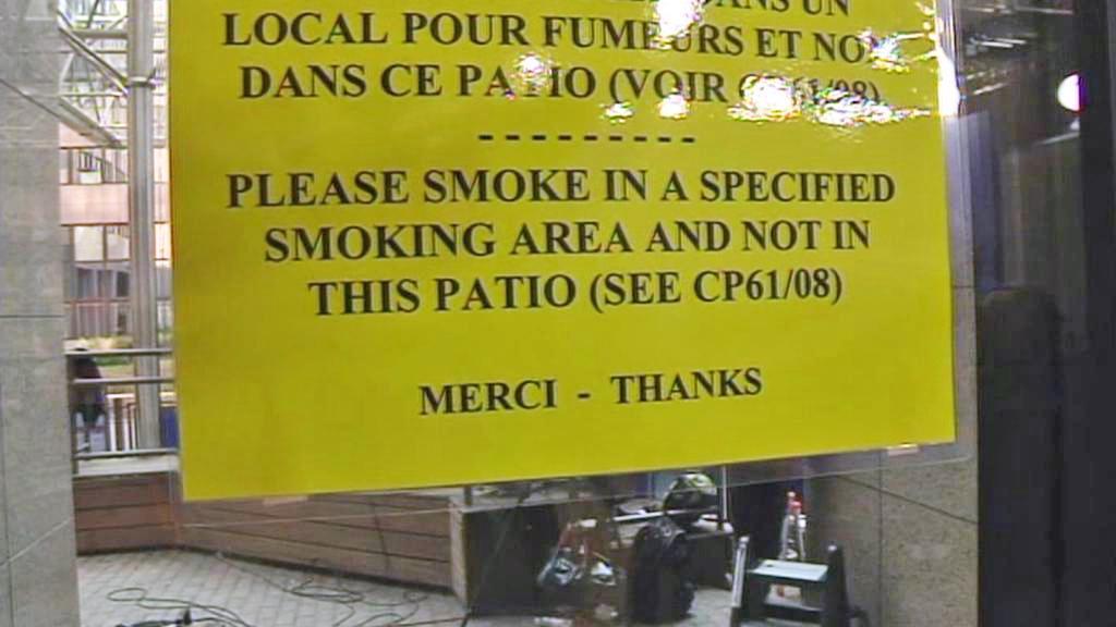 Zákaz kouření v EU