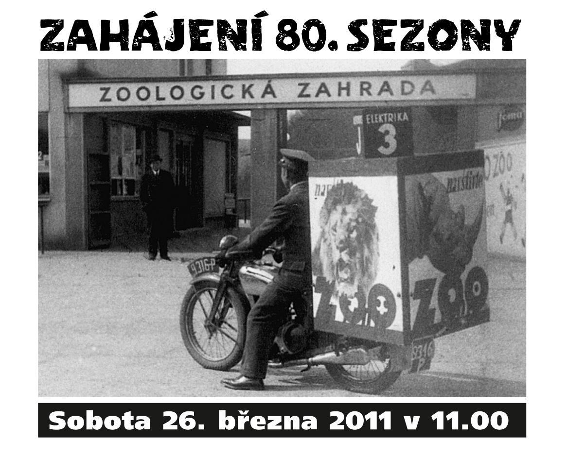 Zahájení 80. sezóny ZOO Praha