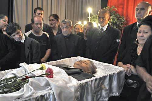 Rom Jeno Koka, jedna z obětí maďarských vrahů
