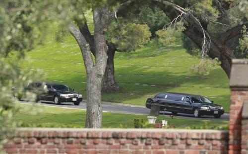 Pohřeb Elizabeth Taylorové