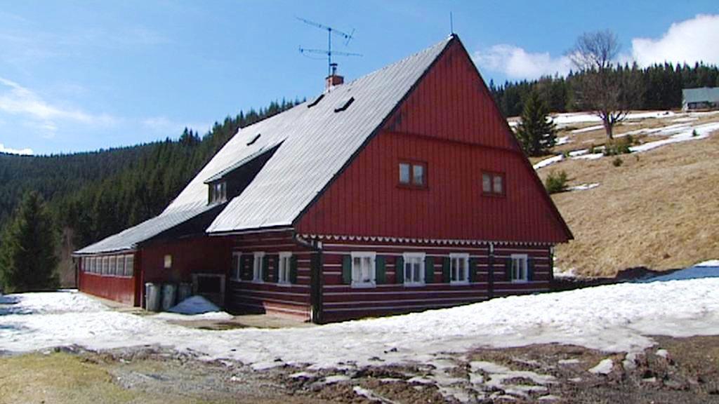 Horská chata v Krkonoších