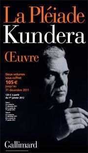 Milan Kundera v edici La Pléiade