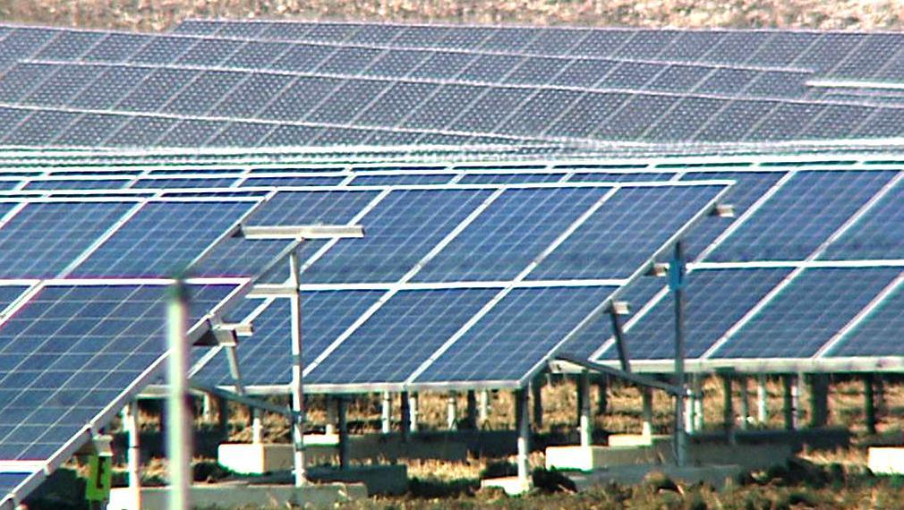 Solární elektrárna v Chomutově