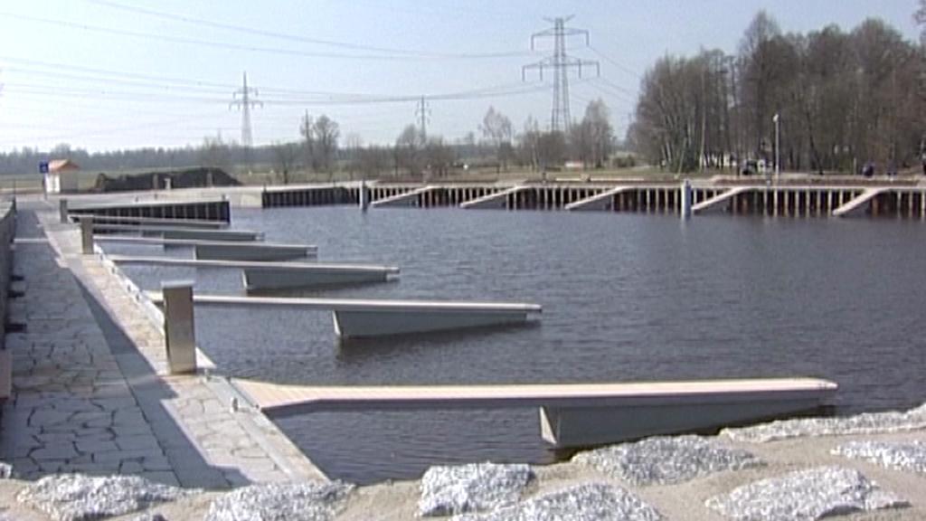 Ochranný přístav v Českém Vrbném