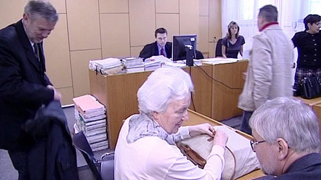 Johanna Kammerlanderová u soudu