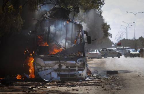 Boje v libyjském Benghází