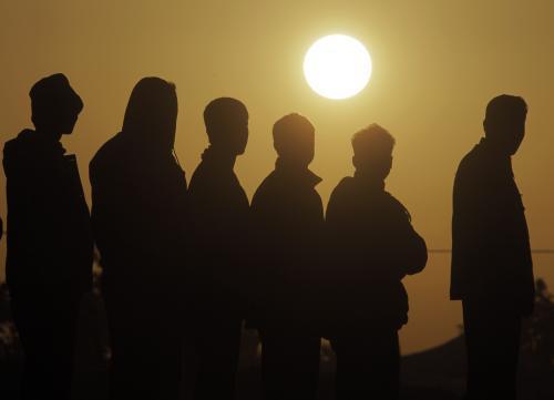 Libyjští uprchlíci