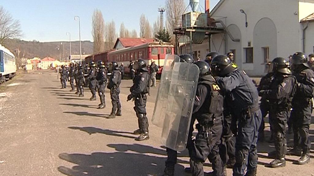Policejní nácvik