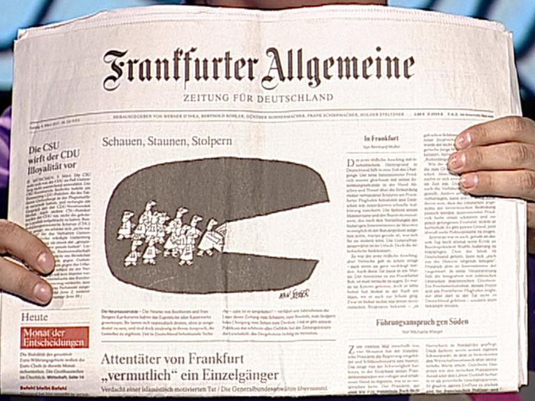 Ivan Steiger / 9000. kresba v Frankfurter Allgemeine Zeitung