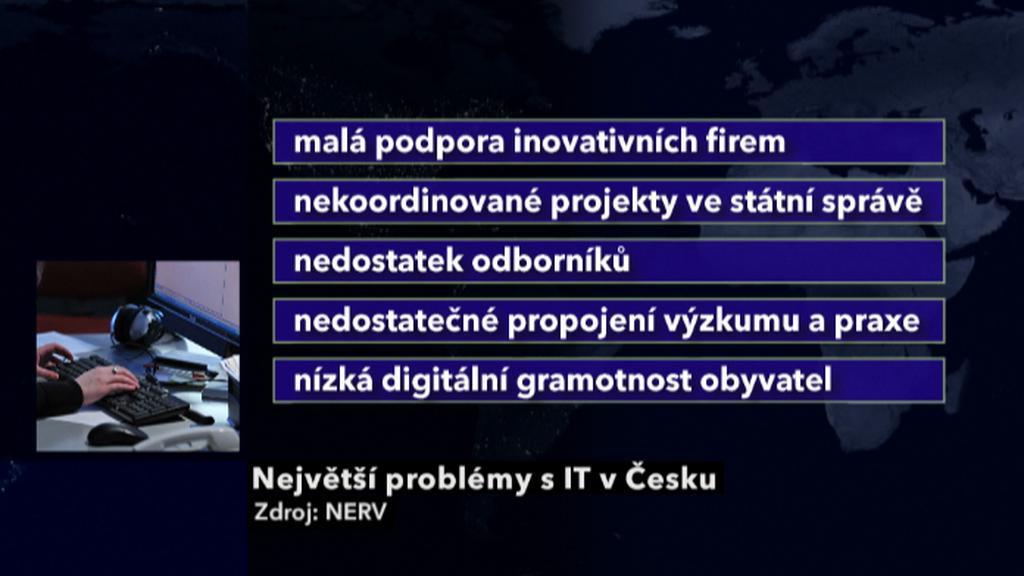 Problémy s informačními technologiemi v ČR