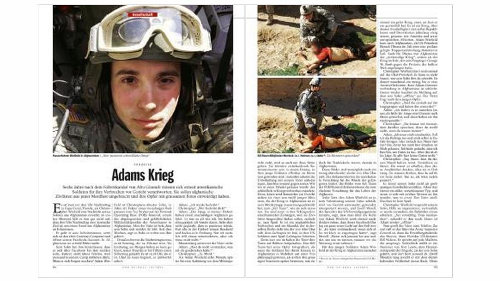 Der Spiegel zveřejnil fotografie vojáků se zabitým afghánským civilistou