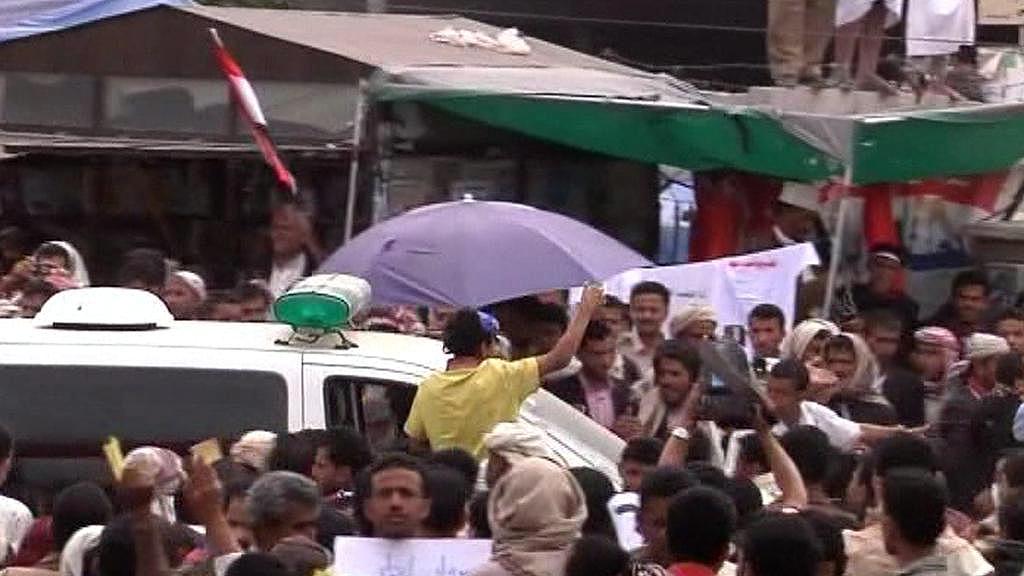 Protesty v Jemenu