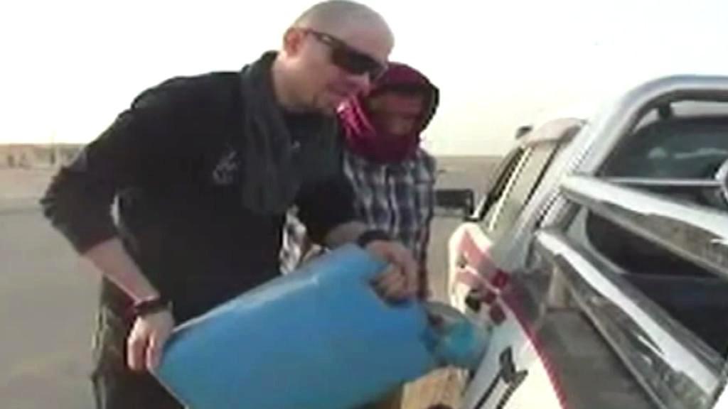 Libyjský novinář Mohamed Nabús