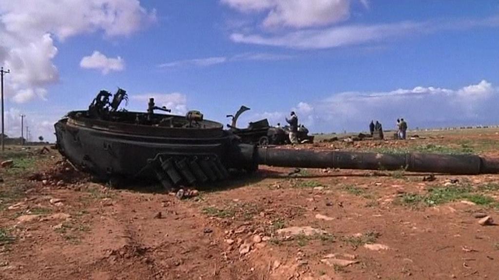 Boje v Libyi