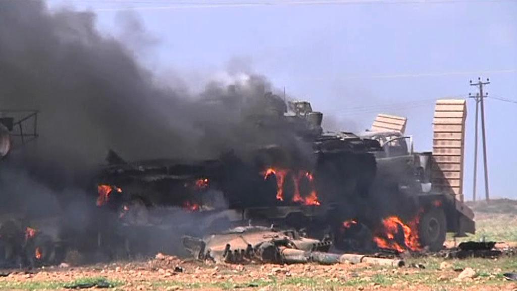 Bojové operace v Libyi