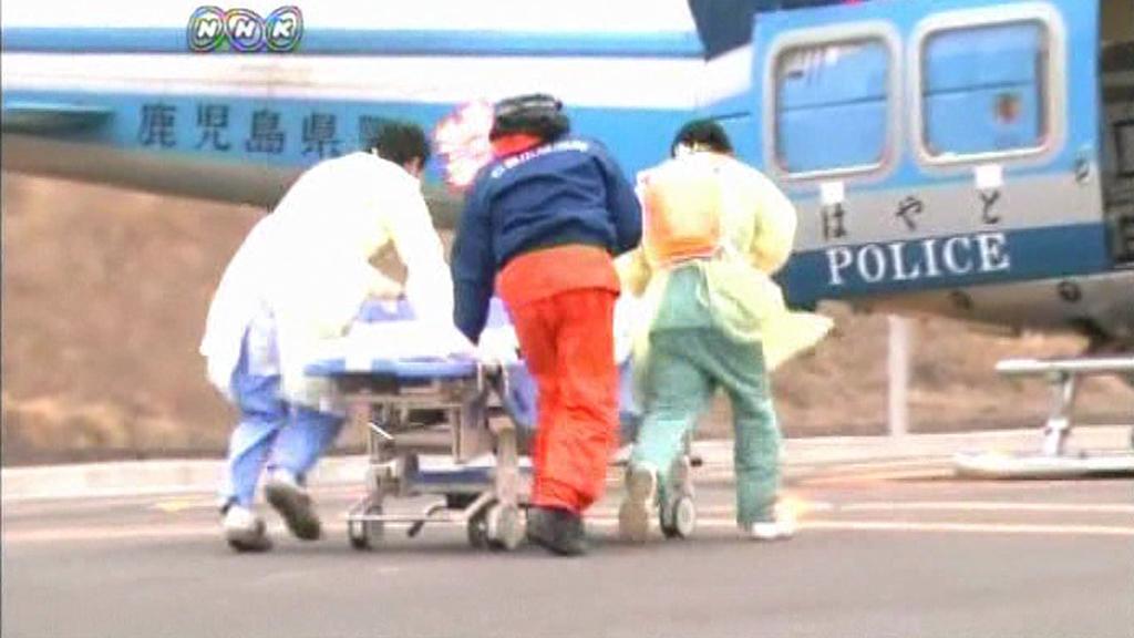 Japonští záchranáři