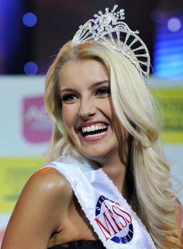 Česká Miss 2011 Jitka Nováčková