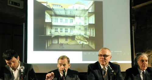 Představování projektu Knihovny Václava Havla