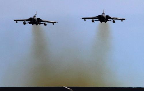 Britské bitevníky Tornádo se připravují na nasazení v Libyi