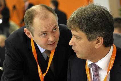 Michal Hašek a Roman Onderka