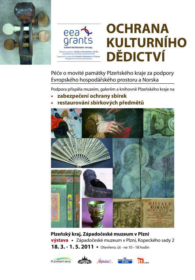 Výstava Ochrana kulturního dědictví