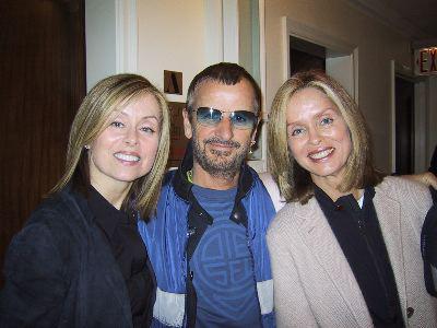 Ringo Starr s rodinou