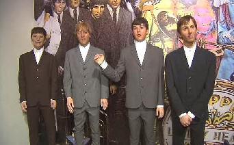 Voskové figuríny Beatles