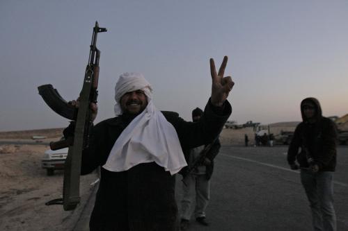 Odpůrci Muammara Kaddáfího