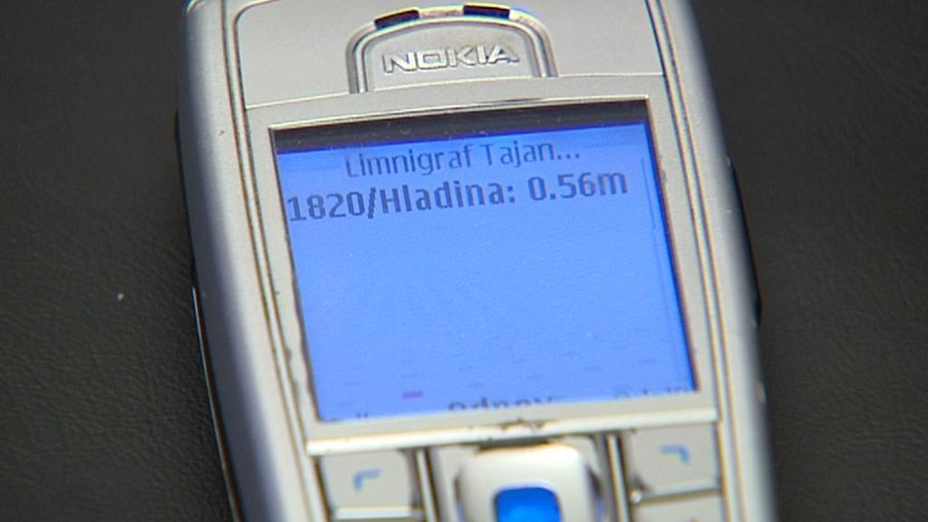 Varovná SMS