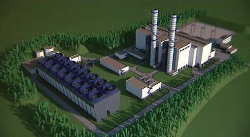 Paroplynová elektrárna