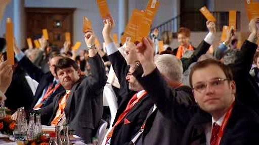 Hlasování na kongresu ČSSD
