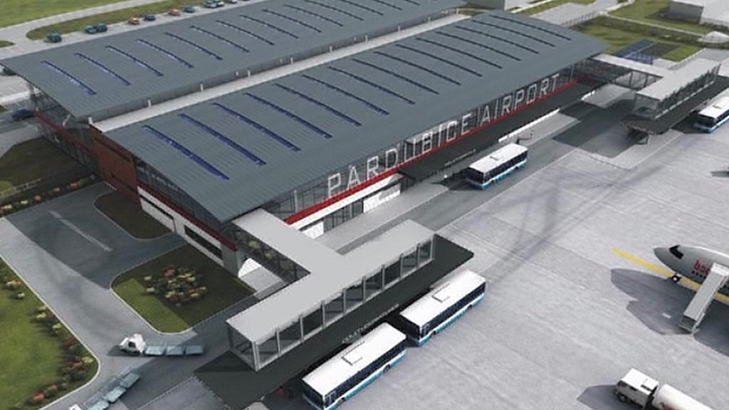 Návrh modernizace pardubického letiště
