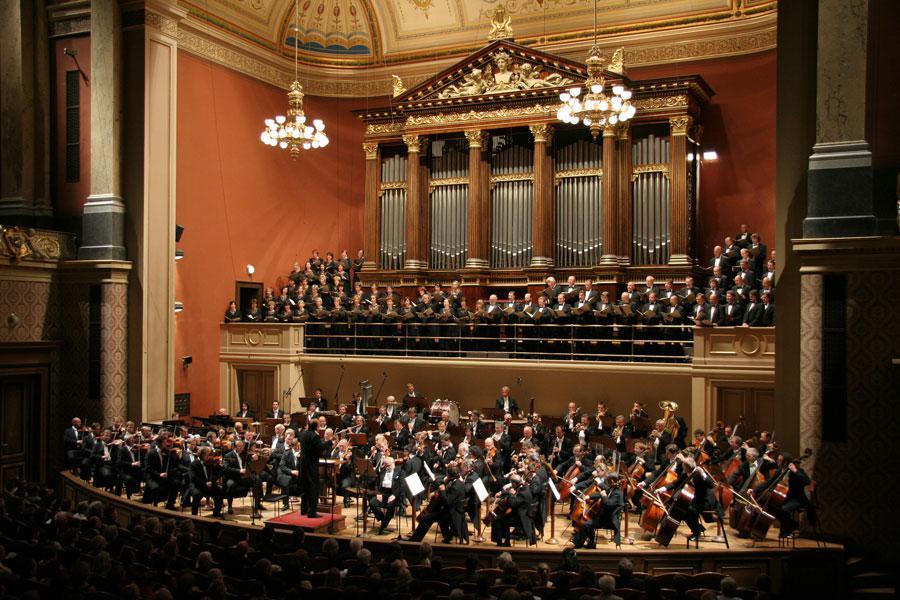 Koncert na festivalu Dvořákova Praha