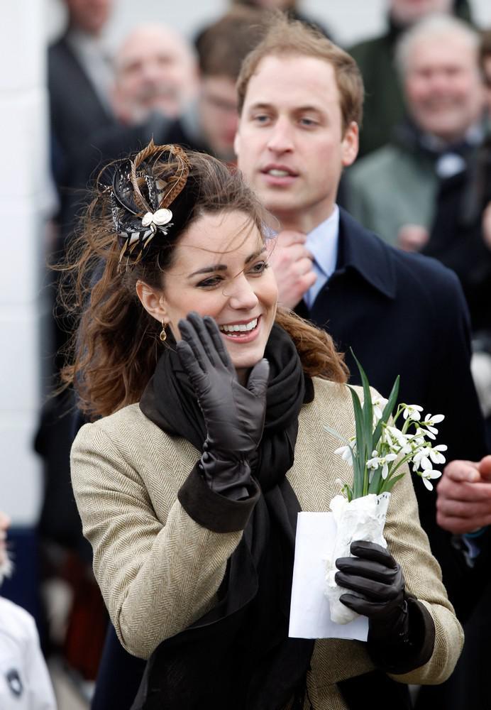 Kate Middletonová a princ William na velšském ostrově Anglesey