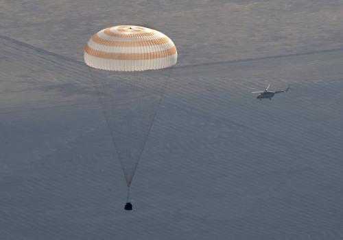 Přistání Sojuzu