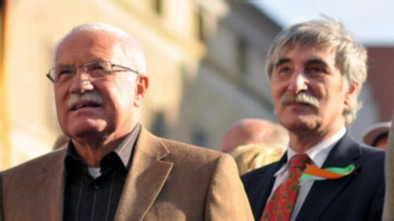 Václav Klaus a Ladislav Bátora