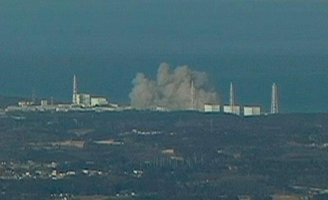 Výbuch v jaderné elektrárně Fukušima 1