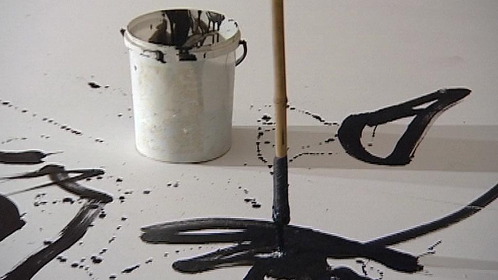 Malování na laně