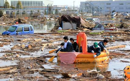 Následky tsunami v Japonsku