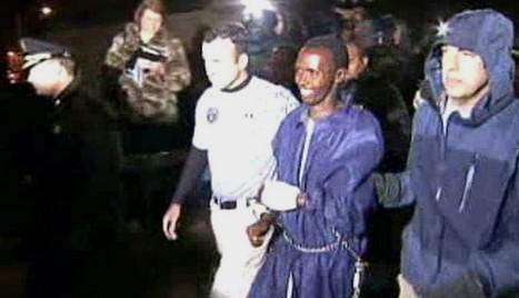 Zadržený somálský pirát