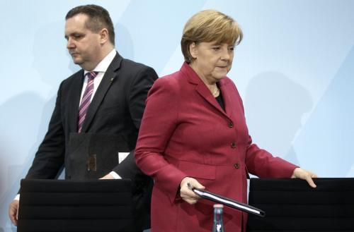 Angela Merkelová a Stefan Mappus
