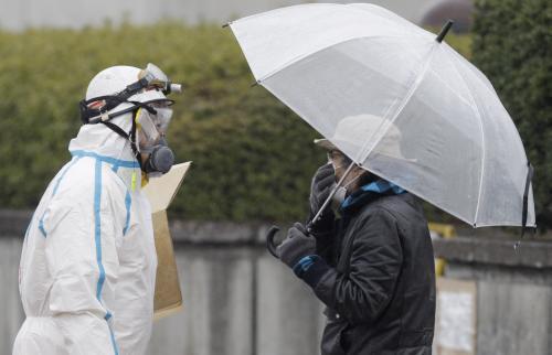 Únik radiace v Japonsku